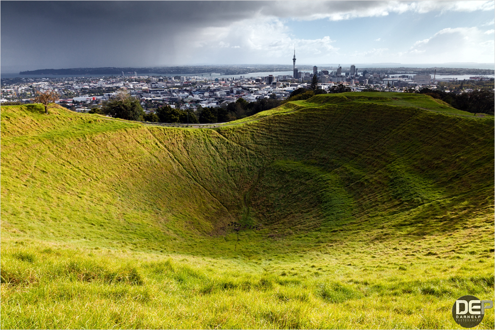 Auckland crater