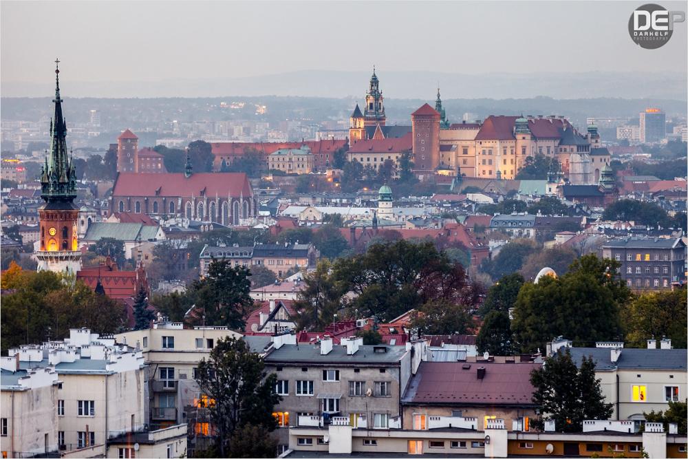 view of Kraków