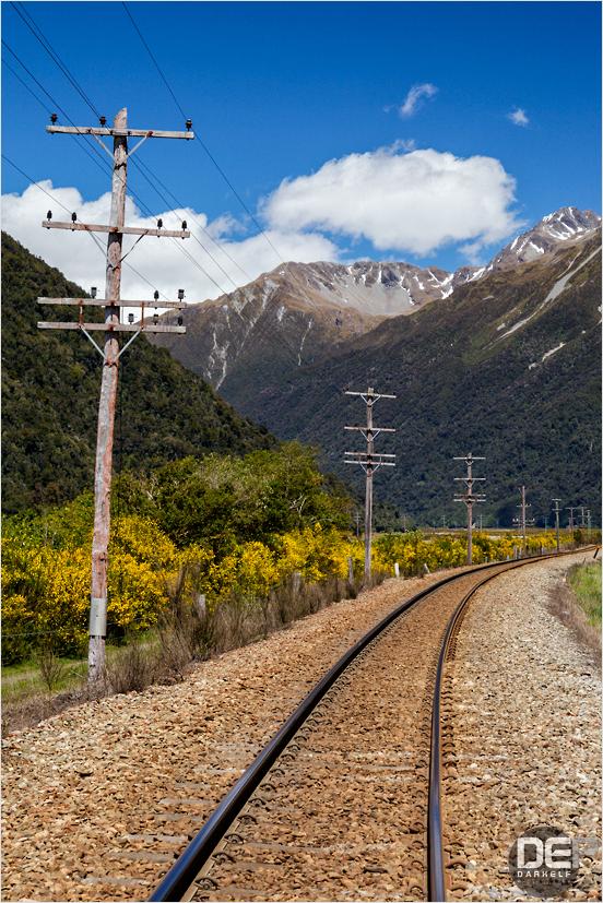 towards the pass