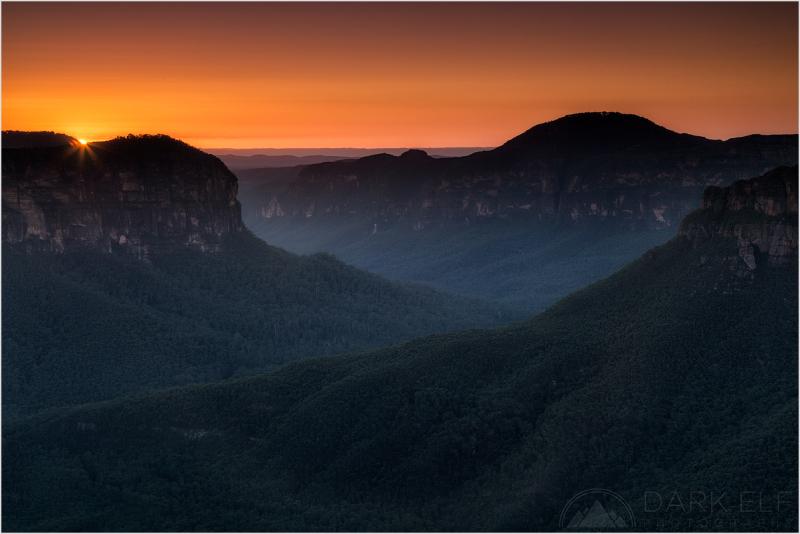 Grose Valley Sunrise