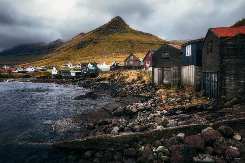 Oyndarfjørður Boathouses