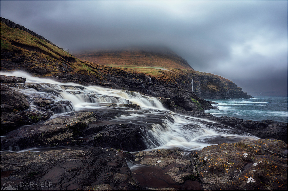 Cliffs and Waterfalls