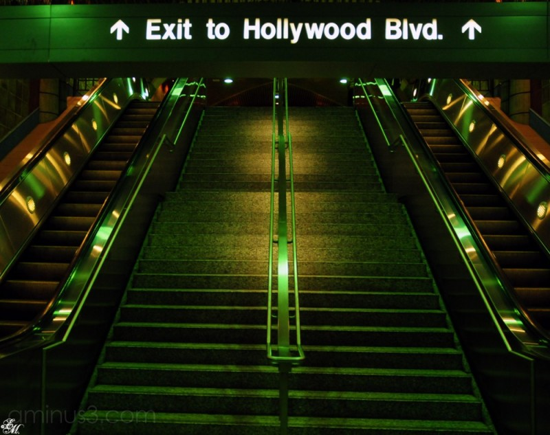 hollywood metro station