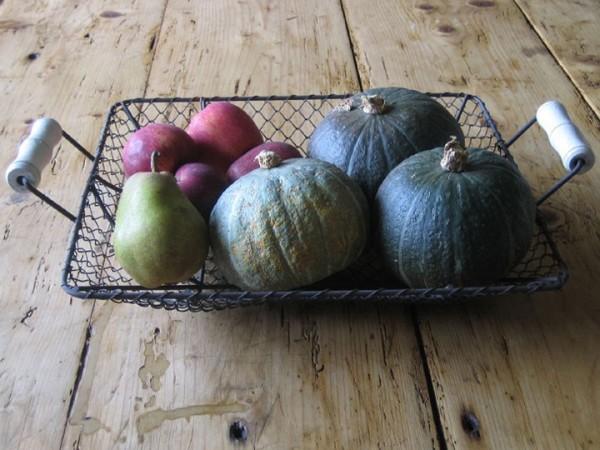 home grown winter fruit