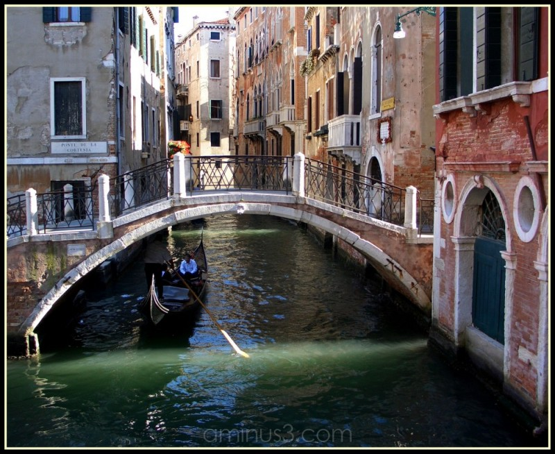 Photograph of canal Venice Italy