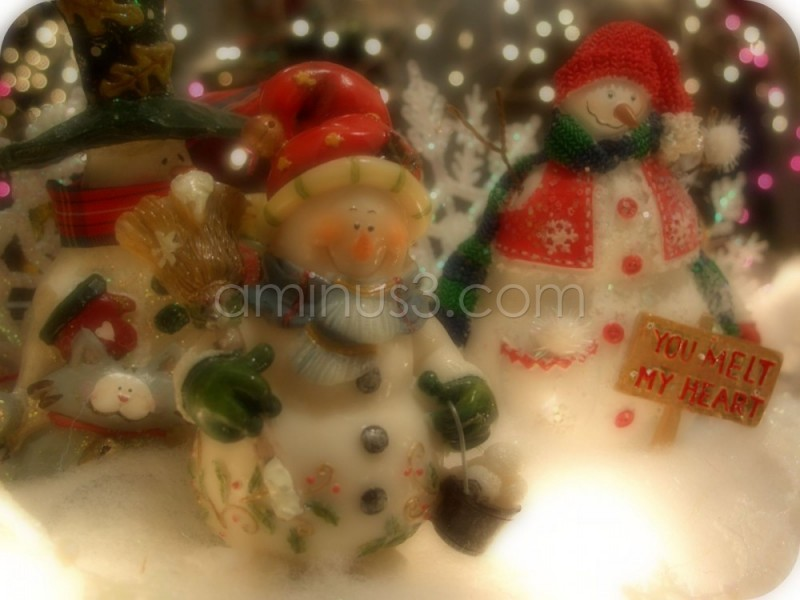 Christams snowman decorations