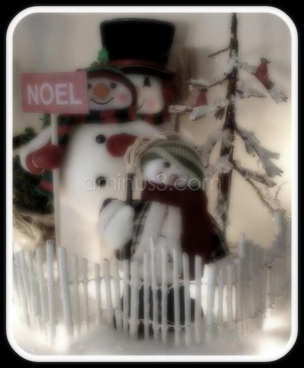 Christmas snowmen decorations