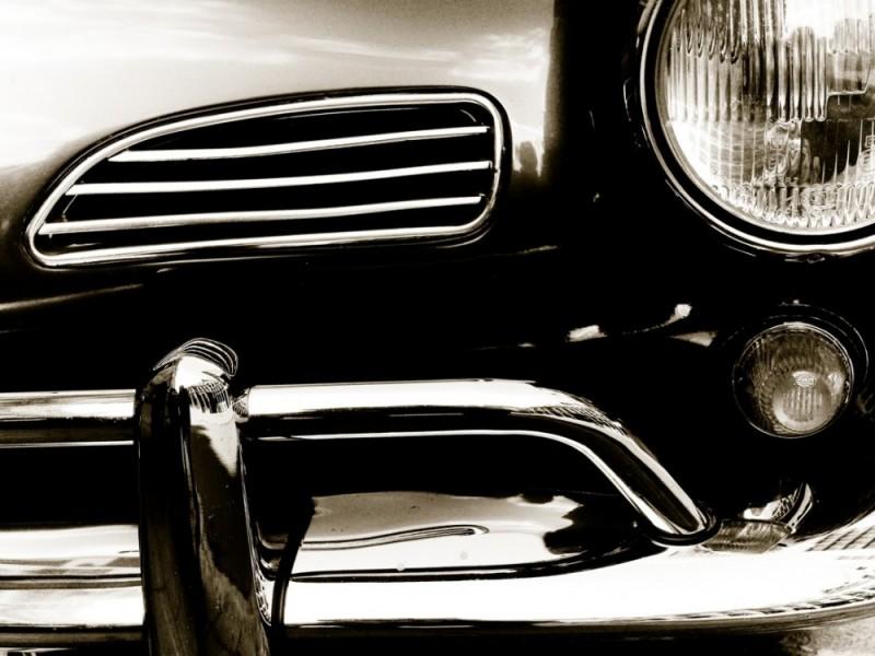 retro style car detail