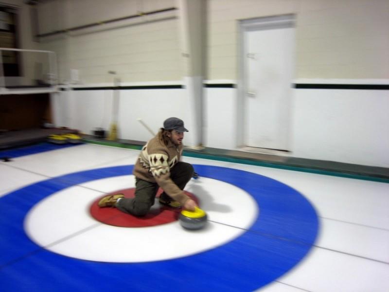 Curling Dude