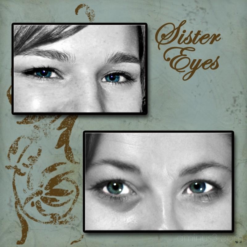 green eyes sisters
