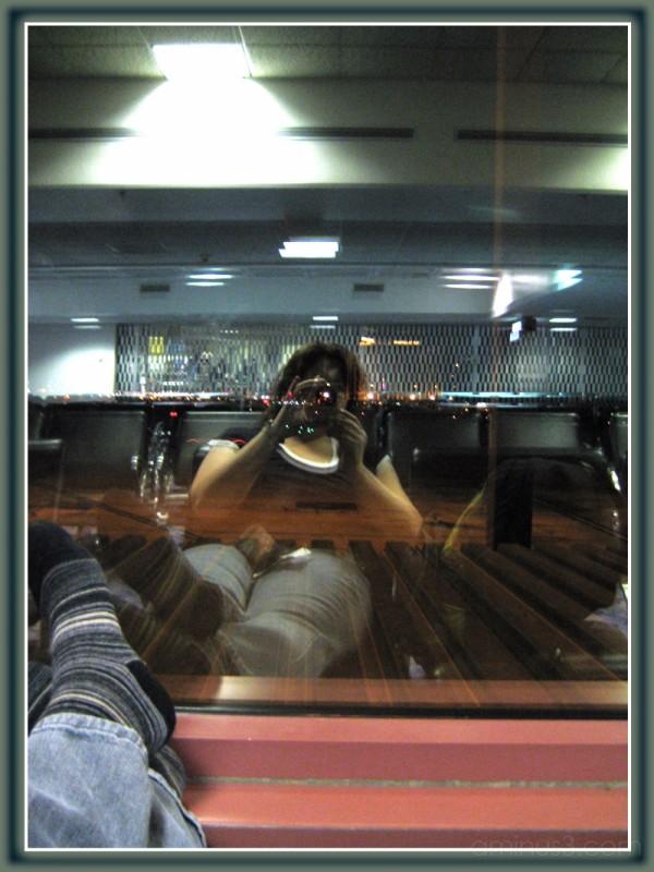 Las Vegas Aiport Waiting