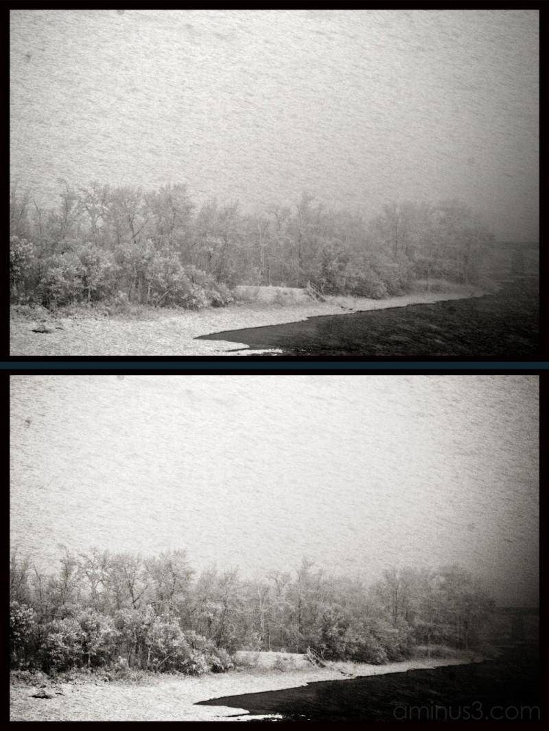 winter snow calgary