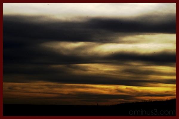prairie sky clouds