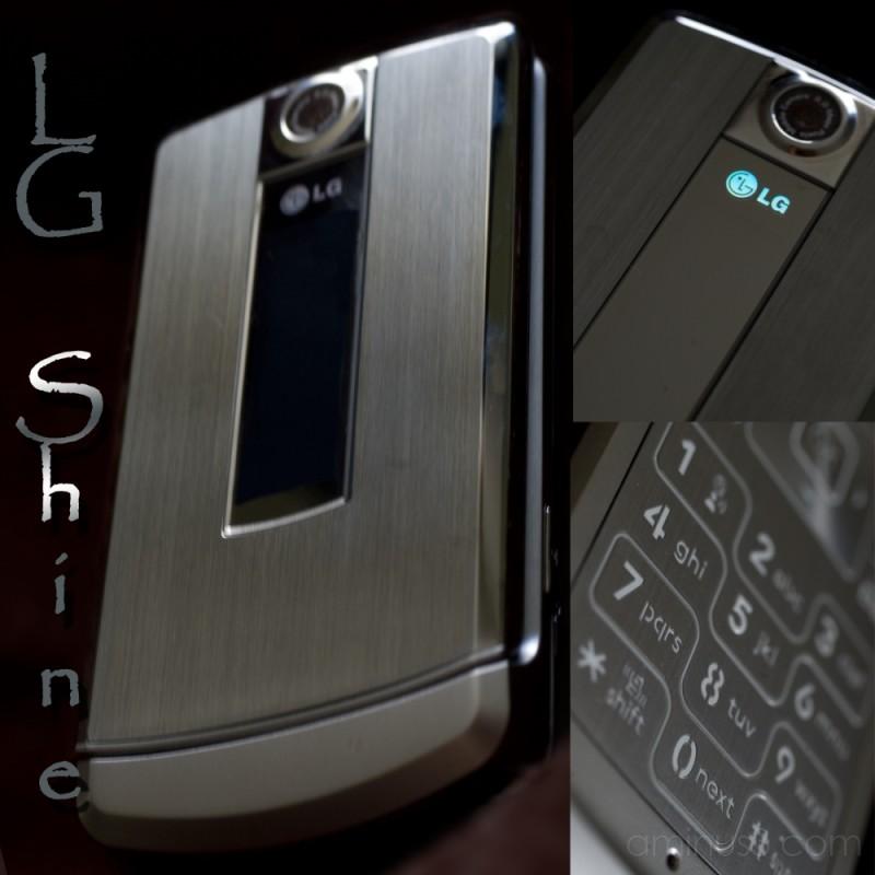 LG Shine cellphone