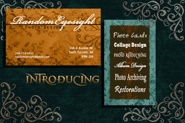 business cards ad