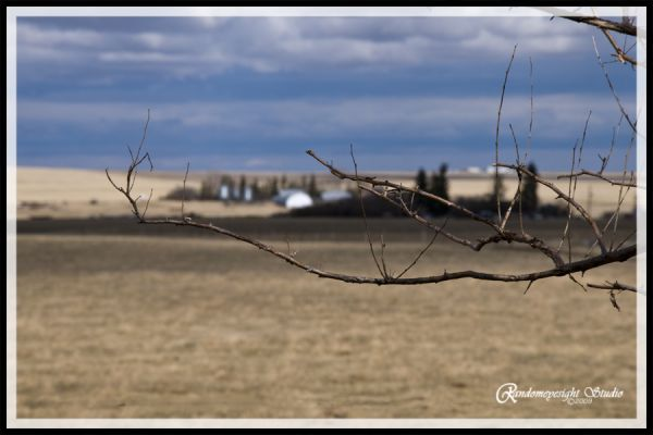 clouds storm prairie spring barn