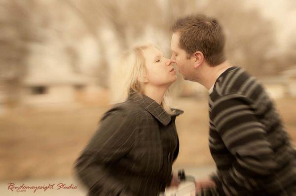 engagement couple