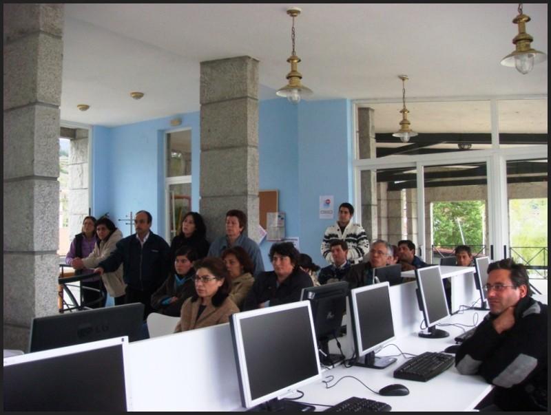 Inaugurando a Aula de Dinamización Tecnolóxica