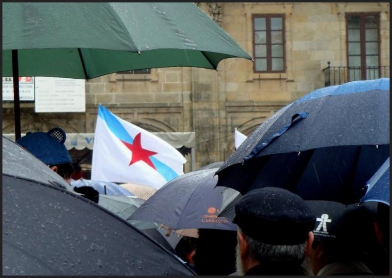 Chovía en Compostela,