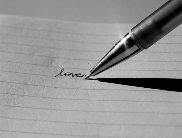 scribbled.