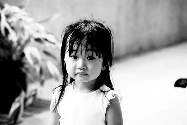 Face of innocence.