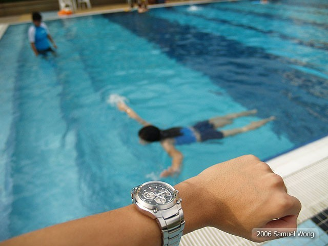 Resort Pool, Coach Tell the Time