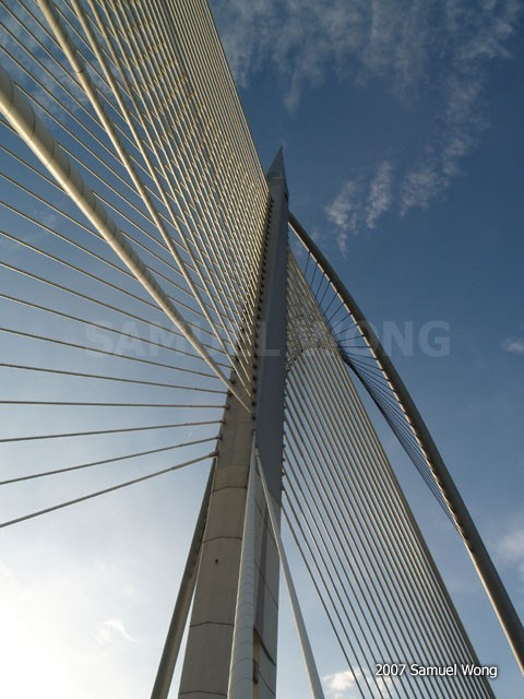 Vision Bridge of Putrajaya, Malaysia.