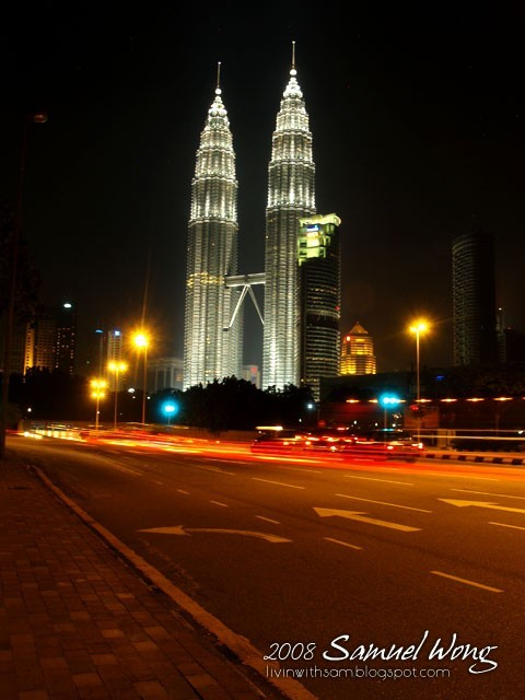 The busy streets of KL that never sleeps.