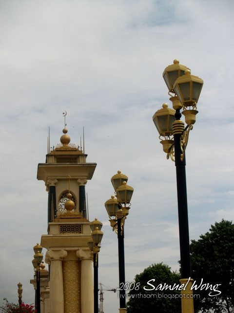 The Golden Street of Putrajaya