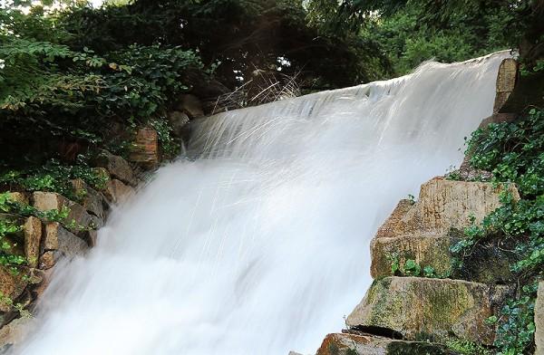 Longwood Gardens - Waterfall