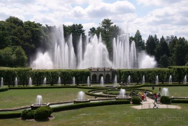 Longwood Gardens - Main Fountain Garden Show