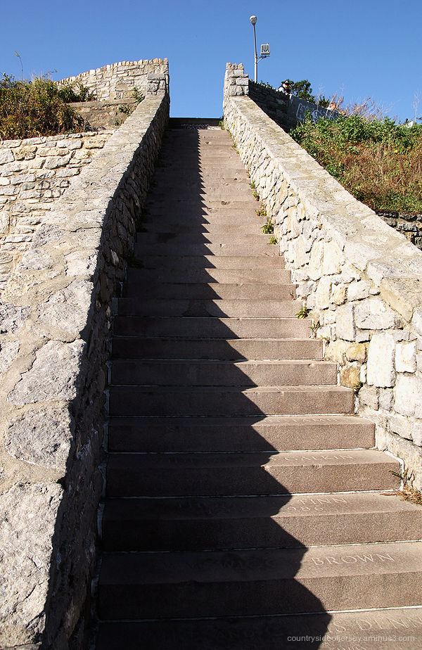 Forty Steps, Cliff Walk, Newport RI