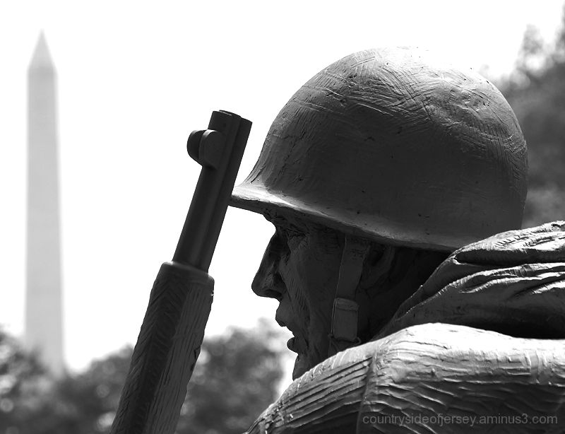 Korean War Memorial - The Faces