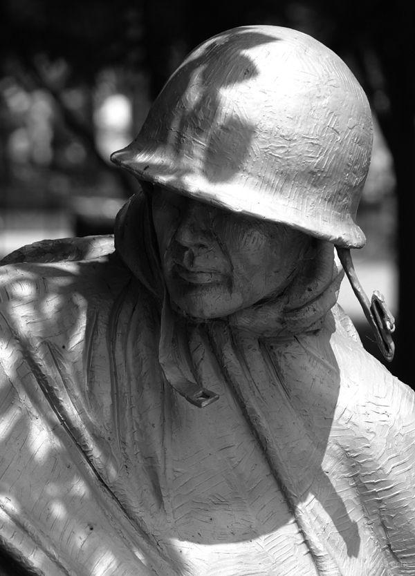 Korean War Memorial - The Faces