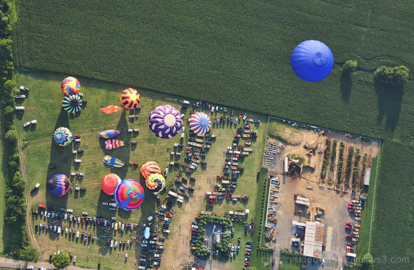 My 2007 Balloon Ride - For Earnest