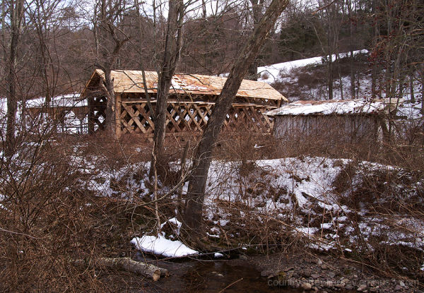 Covered Bridge at Millbrook Village