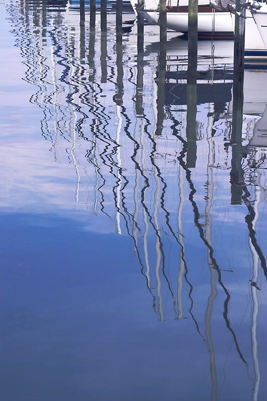 Saiboat Reflections