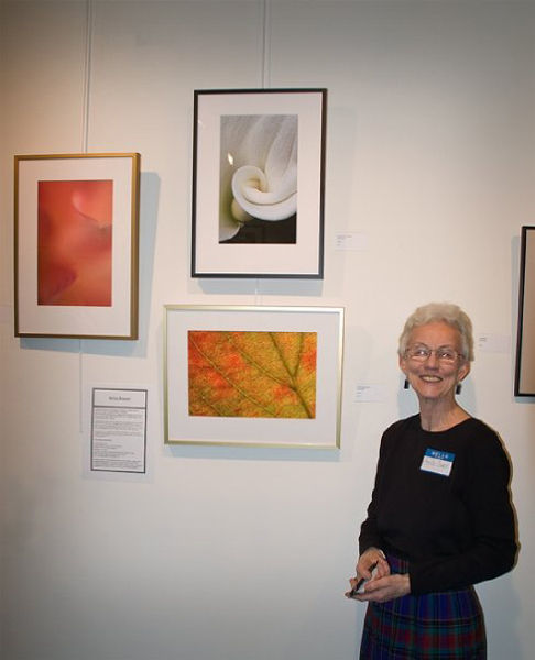 Me and my photos at the Oxford Arts Alliance Show