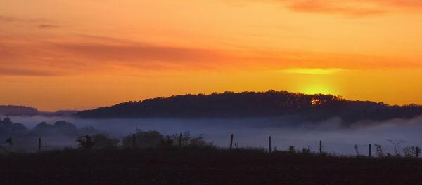 Sunrise & Fog