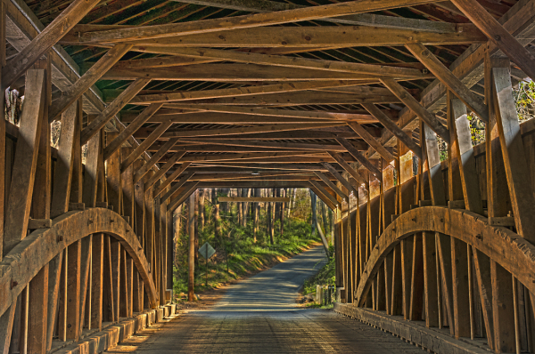 Linton Stevens Covered Bridge