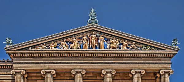 Philadelphia Museum of Art  Pediment