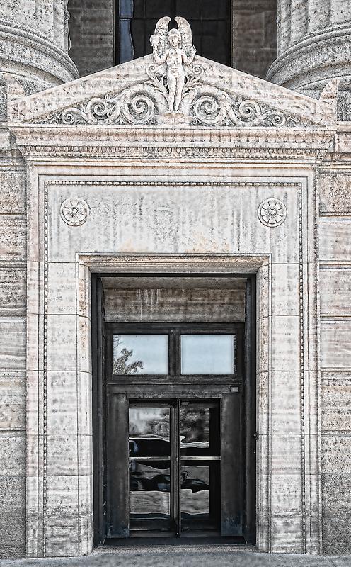 Philadelphia Museum of Art--Side Entrance