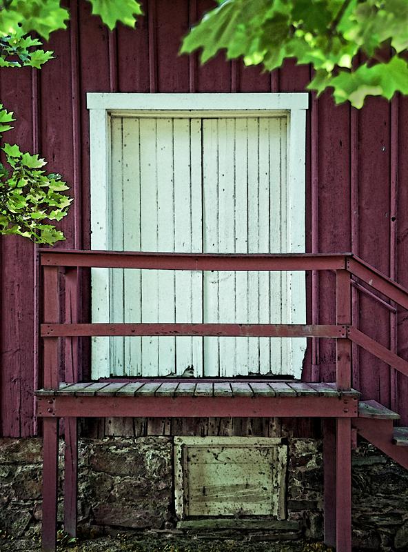 Door with Lines