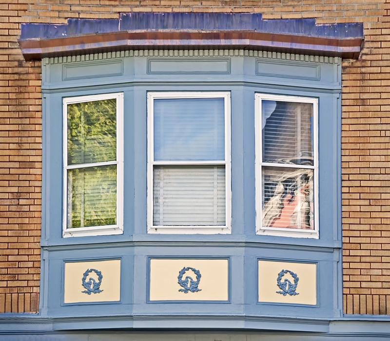 Blue Bay Window
