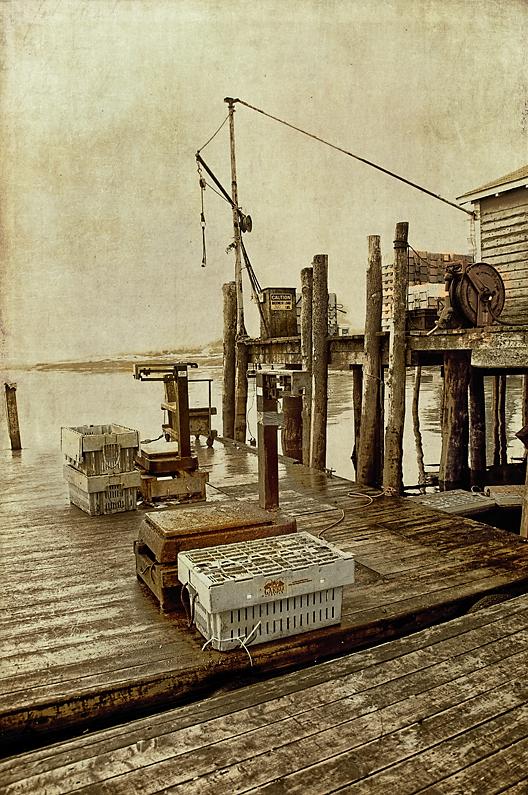 Maine Lobstering Dock