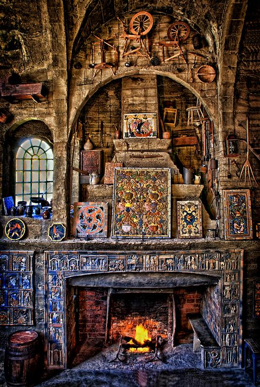 Main Room, Moravian Tile Works