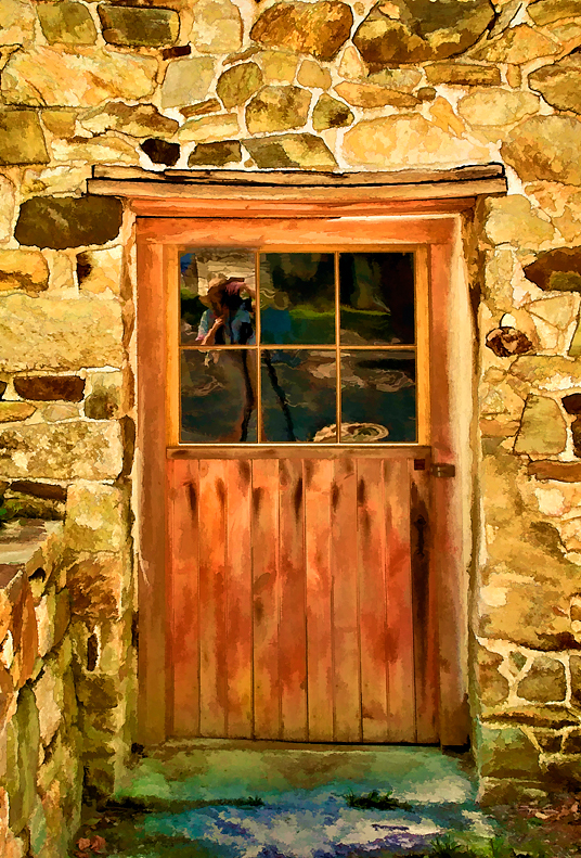 Door at Mill at Anselma