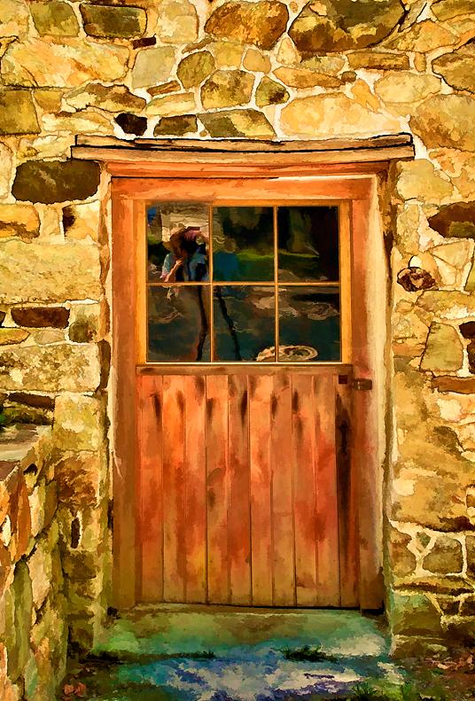 Door at Mill at Anselma