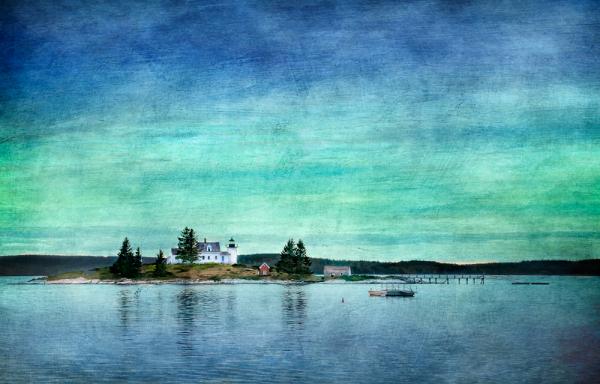 Pumpkin_Light Lighthouse Deer_Isle