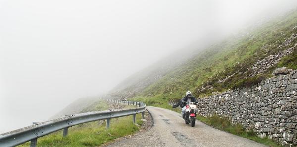 Road on Applecross, Scotland